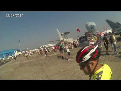 Biker's Crew la Bucharest international Air Show