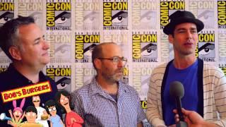 Larry Murphy (Teddy), H. Jon Benjamin (Bob) & John Roberts (Linda) talk Bob's Burgers Season 6