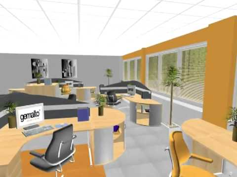 Kiwi Interior Design Gemalto Walkthrough - YouTube