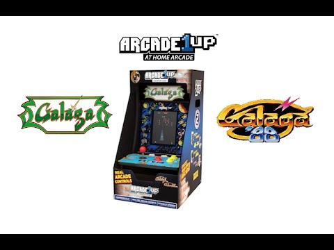 Arcade1up Galaga 88 Countercade unboxing from Johnny Liu
