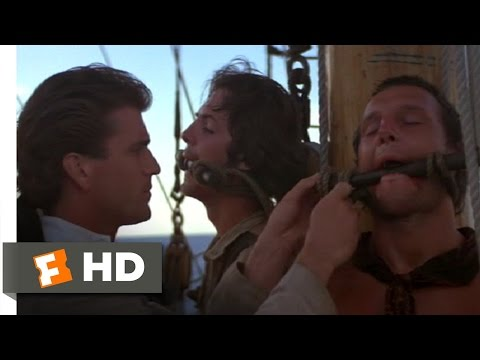 The Bounty (1/11) Movie CLIP - Gag Them Both (1984) HD