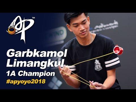 Garbkamol Limangkul (TH): 1A Division Finals  - Asia Pacific Yo-yo Championships 2018