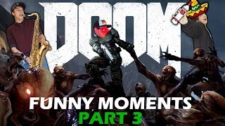 Owen's Benny Hill Speedrun - Doom Funny Moments! (Part 3)
