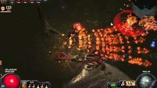 path of exile bm molten scold