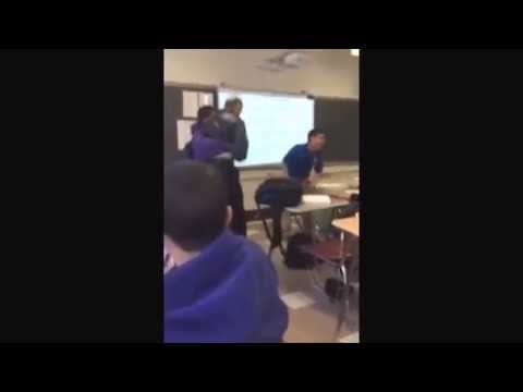 Student Slams Teacher For Taking His Phone Away