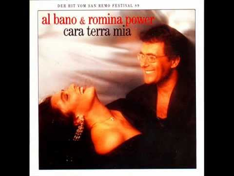 Al bano romina cara terra mia 1989 youtube for Al bano e romina power