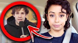 Liza Koshy Reacts To David Dobrik Being Cancelled