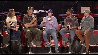Trackside Live Replay: Dale Jr., Bubba Wallace And Michael Waltrip Take The Stage