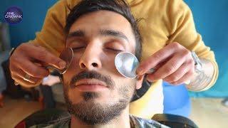 ASMR SLEEP THERAPY TO MY BRO ! ASMR HEAD MASSAGE, ASMR EAR MASSAGE, ASMR BACK MASSAGE