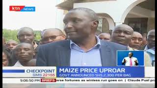 Raymond Moi says maize price big let down, wants price reviewed upwards