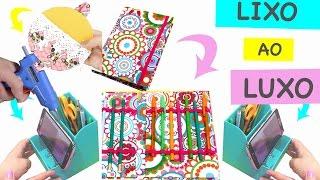 DIY – 6 Ideias com Material Reciclável – Lixo ao Luxo