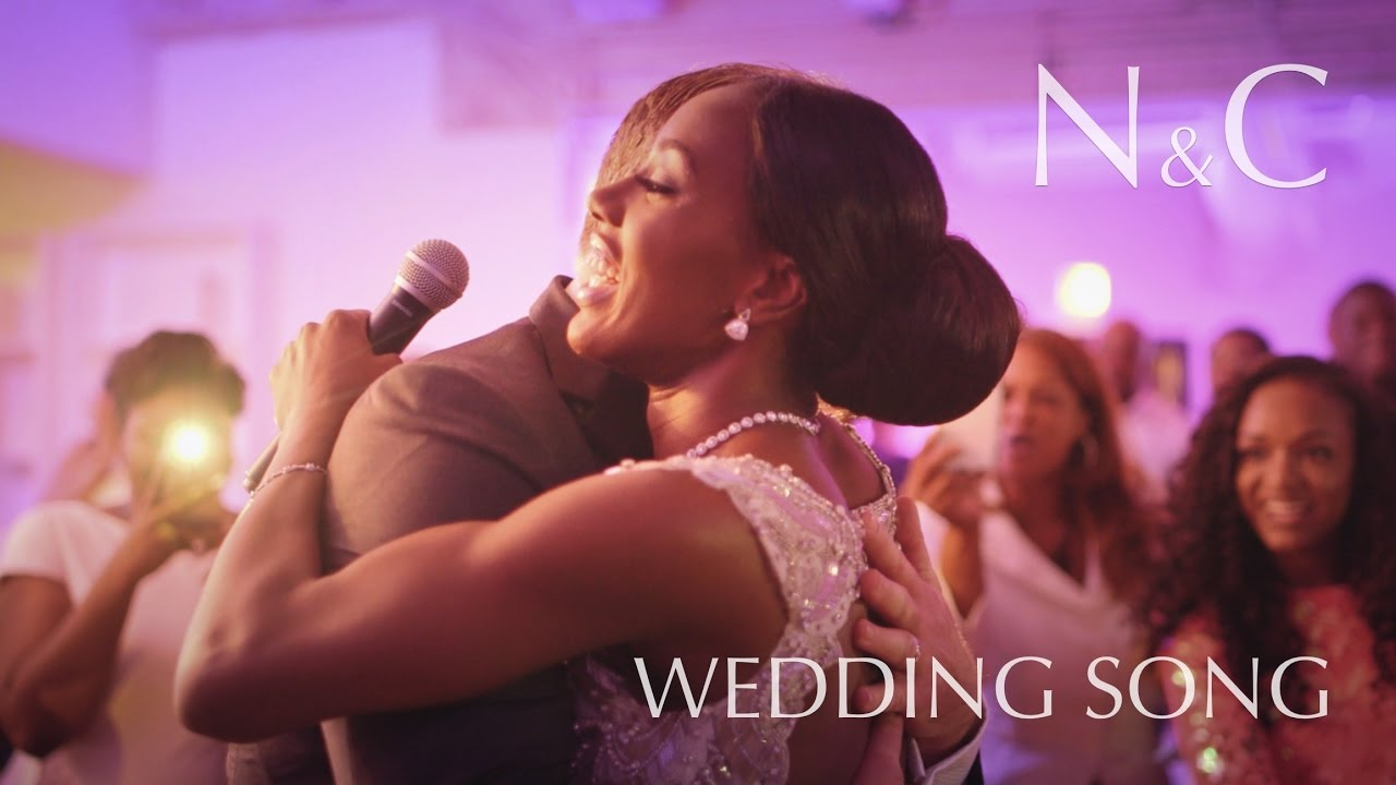 wedding song to groom from bride nikki chris wedding youtube