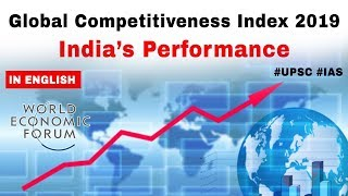Global Competitiveness Index 2019 by World Economic Forum, India slips 10 places to 68th rank #UPSC