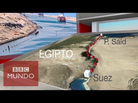 El nuevo Canal de Suez, construido en tiempo récord