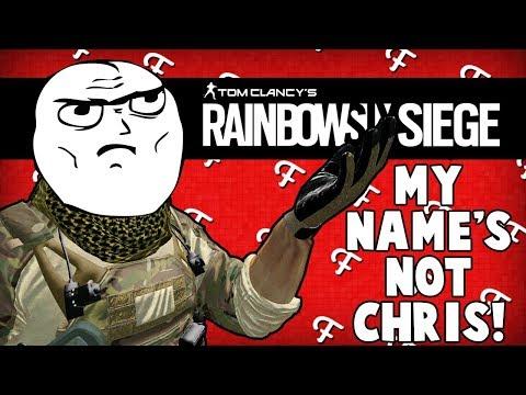 Rainbow Six Siege: I Am Iron Man, Bad Joke Open Mic Night, My Names Not Chris Troll (Comedy Gaming)