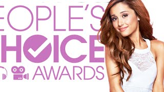 Ariana Grande Dissed at People's Choice Awards 2015 (Be Yourselfie)