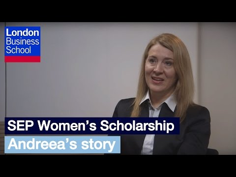 SEP Women's Scholarship: Andreea's Story | London Business School