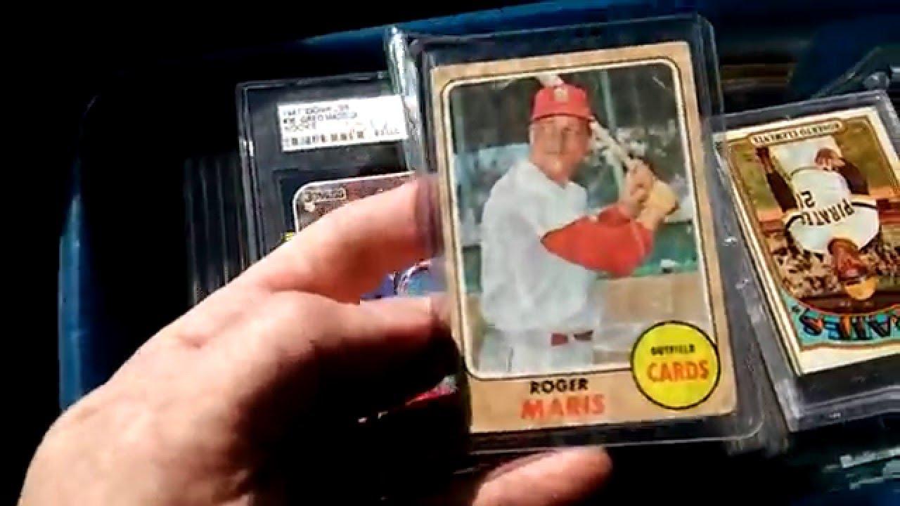 Huge Vintage Baseball Card Collection For Sale