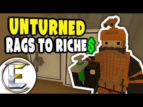 Friendliest Guys | Unturned RP Rags to Riches Reboot #2 - Given Confiscated Items (Roleplay)