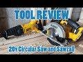 TOOL REVIEW - Dewalt 2-Tool Combo Circular Saw and Reciprocating (SAWZALL) Saw