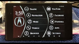 2013 Nexus 7 software setup for 2008 Acura TL Type S
