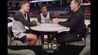 Steve Nash Talks with Trae Young and Ja Morant About Their Growth | NBA on TNT Tuesday
