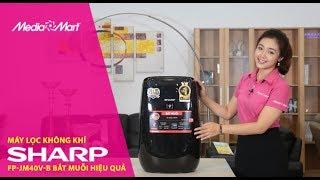 Máy Lọc Không Khí Và Bắt Muỗi Sharp FP-JM40V-B: Tiết kiệm điện hiệu quả