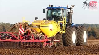 Uprawa i Siew pszenicy - New Holland T9 , John Deere 7830 Horsh  *GR Pawłyna*