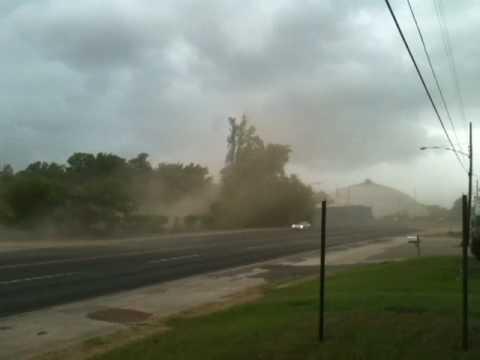 Wind Storm in Longview