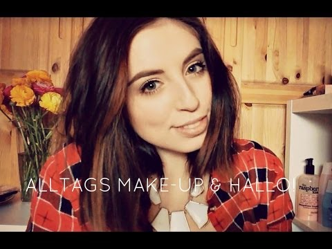 alltags make up tutorial hallo youtube. Black Bedroom Furniture Sets. Home Design Ideas