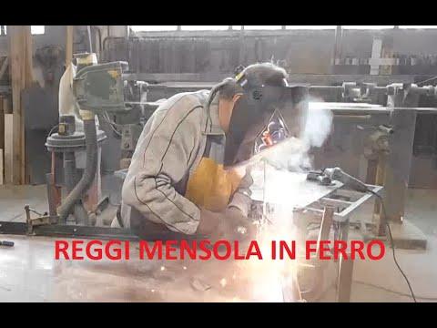 Staffe Angolari In Ferro Battuto.Staffa Supporto Mensola Reggimensola In Ferro Iron Youtube