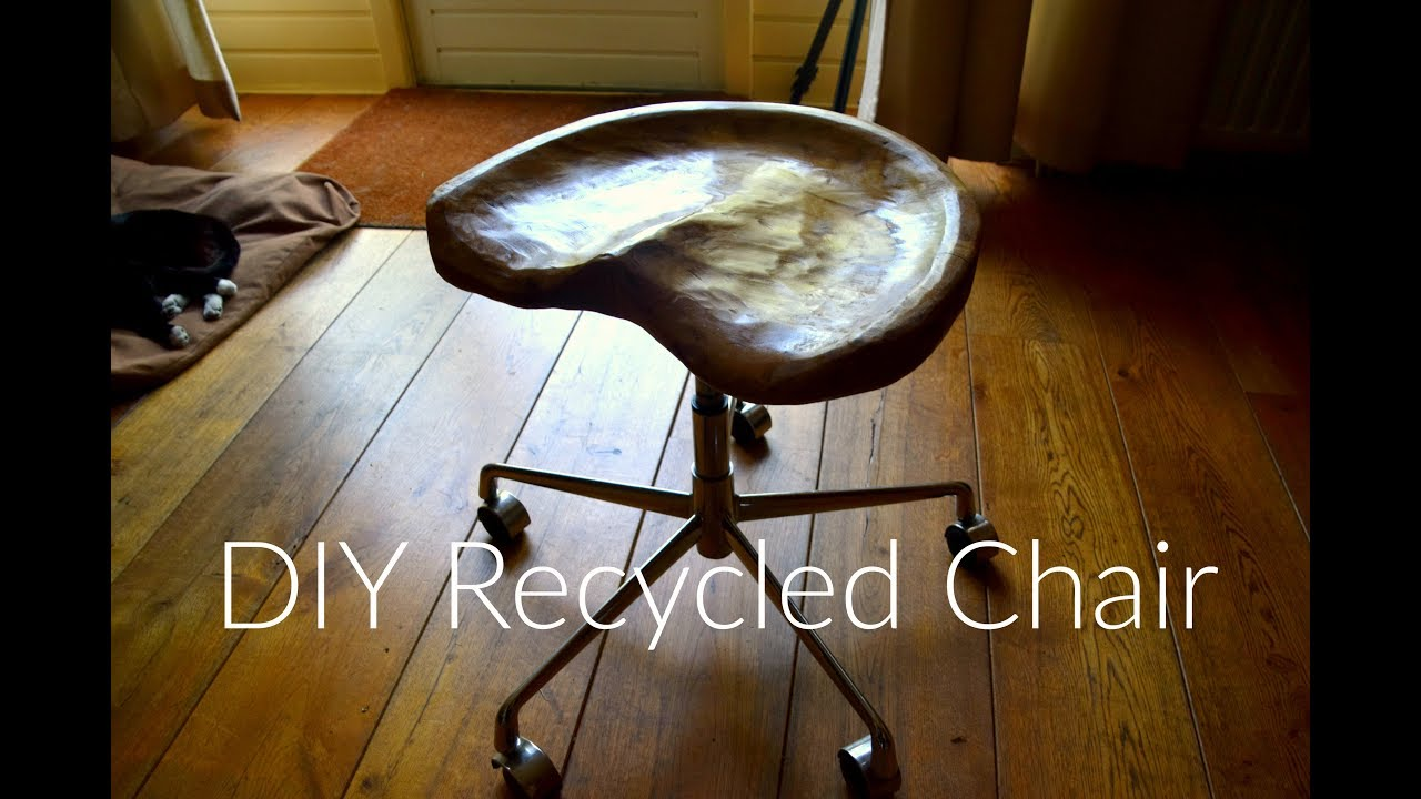Making A Beech Wood Tractor Seat Desk Chair