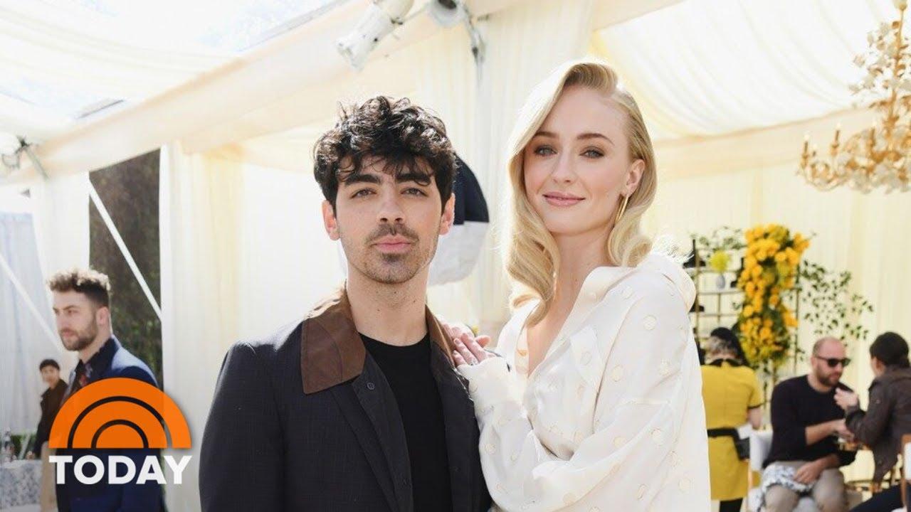 Joe Jonas, Sophie Turner Tie The Knot (Again) In Paris | TODAY