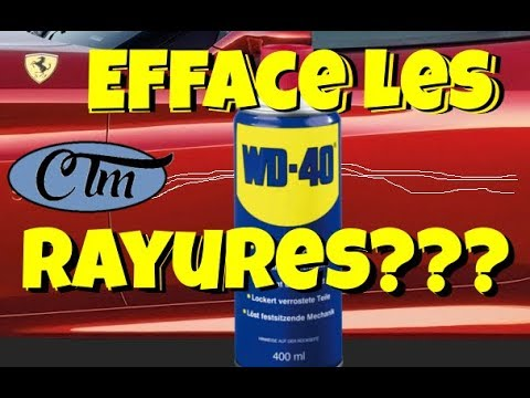 wd40 rayure resine de protection pour peinture. Black Bedroom Furniture Sets. Home Design Ideas