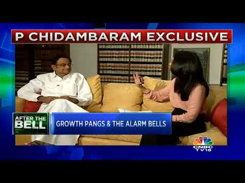 Former Fin Min P Chidambaram On The Growth Pangs | CNBC TV18
