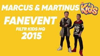 Marcus & Martinus Q&A - 4 December 2015 - Filtr Kids - English Subtitles