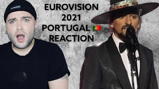 Portugal Eurovision 2021 Reaction The Black Mamba - Love is on My Side