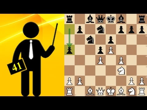 Standard chess game #41 - French Defense, Tarrasch