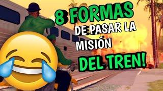 8 Formas De Ganar La Mision Del Tren De Big Smoke Youtube