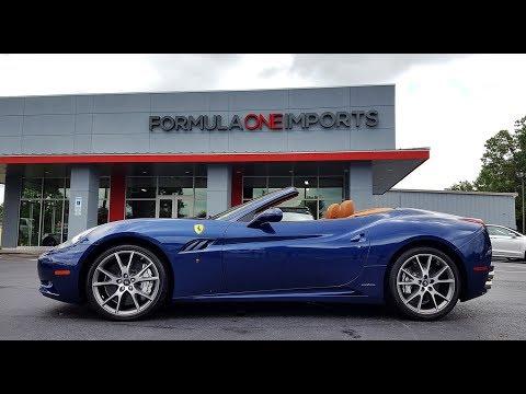 2012 Ferrari California - For Sale - Formula One Imports Charlotte