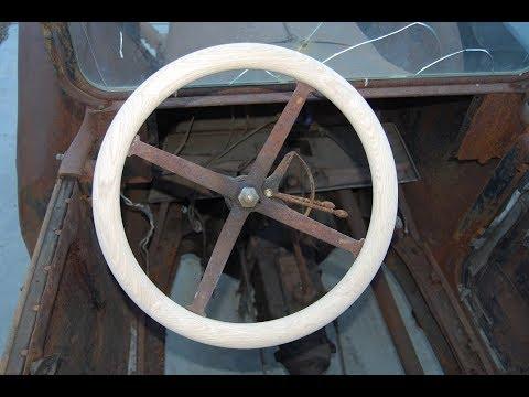 Episode 9 Making a wooden steering wheel part 2