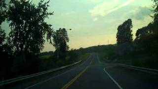 Part 2 - Shawangunk Mountains Scenic Byway - New York State - Song: Like A Fox On The Run