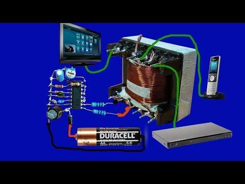 testing inverter 12v to 220v circuit diagram feedback by. Black Bedroom Furniture Sets. Home Design Ideas
