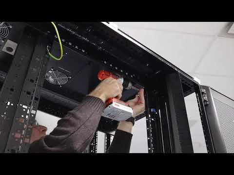 Installing Air Brush Baffles In a 800w x 2000h Rack