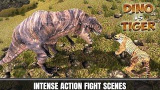 🐅🐲👍Tiger vs Dinosaur Adventure 3D -Приключение Тигрa против Динозавра - Android