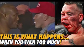 When Keeping It Real Goes Wrong | Colby Covington Gets Starched By Kamaru Usman For Talking Too Much