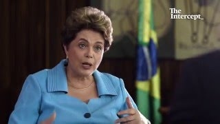 Glenn Greenwald's Interview with Dilma Rousseff: Her First Since Being Suspended