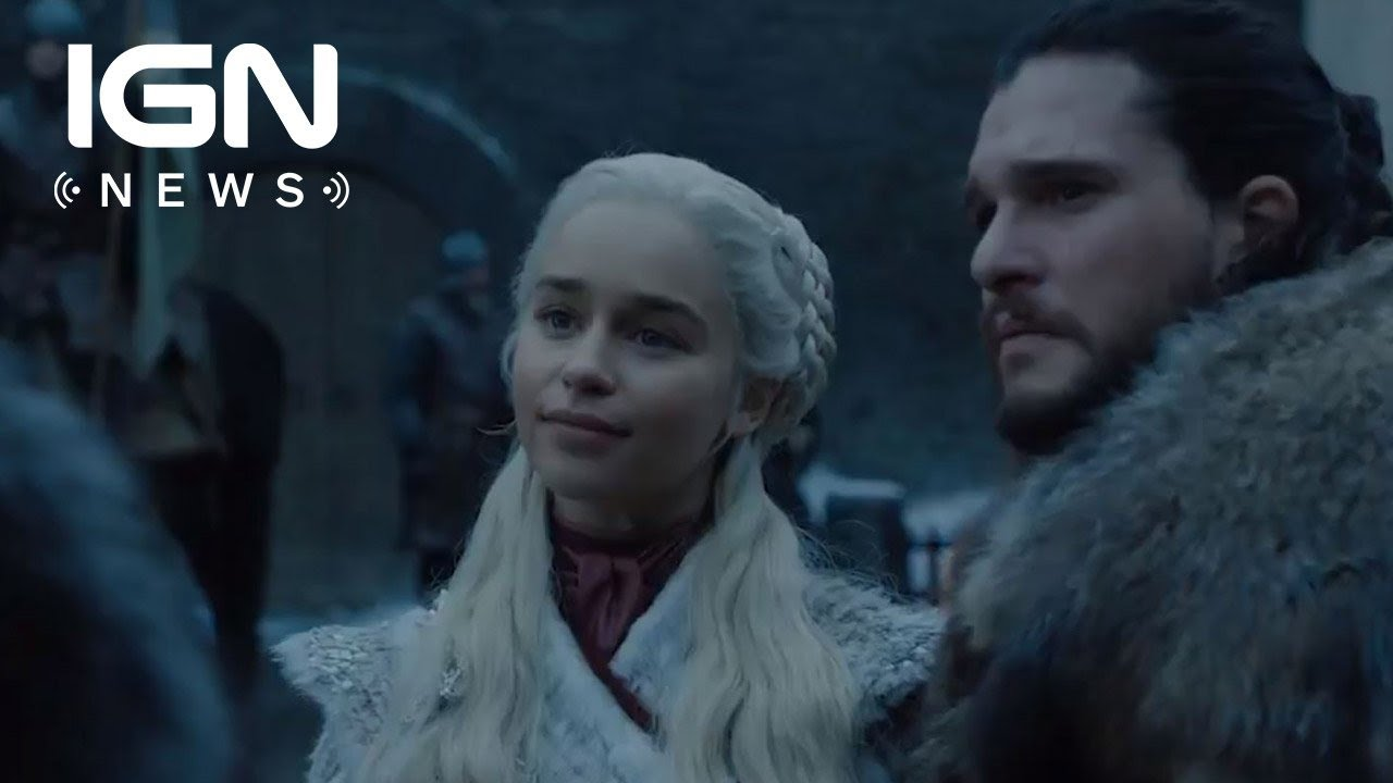 Game Of Thrones Season 8 New Look Shows Daenerys And Sansa Meeting Ign News Youtube