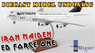 Video Unboxing of Iron Maiden's 'Ed Force One' diecast model by Inflight200 download MP3, 3GP, MP4, WEBM, AVI, FLV Juni 2018