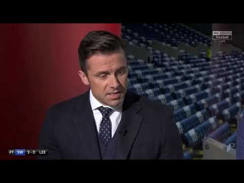Leeds V Sheff wed review highlights and manager interviews